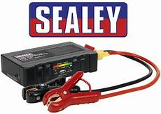 Sealey Petrol Diesel 12v Battery Jump Start Starter