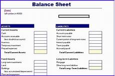 10 excel balance sheet template free excel templates excel templates