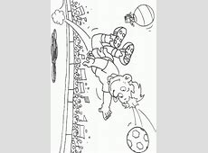 Football Coloring Pages   Coloringpages1001.com