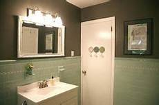 green and black tile bathroom mint green and black retro original tile bathroom from late