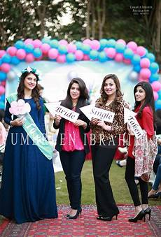 lahore pakistan bridal shower in 2019 wedding bride