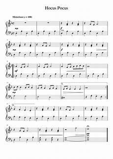 hocus pocus halloween music piano music music lessons