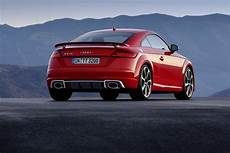 audi tt rs coupé 2017 audi tt rs roadster coupe bring five cylinders with