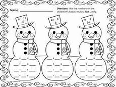 free worksheets for winter 20169 winter math freebie 10 printable math practice pages for winter kindergarten math math