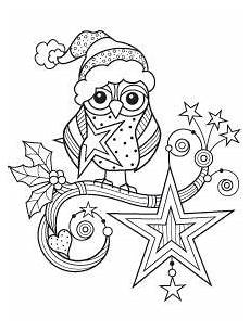 Ausmalbilder Eule Weihnachten Tons Owl Coloring Pages Coloring Designs