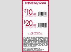 bath and body promo codes