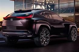 Lexus UX Concept демонстрирует водительское место будущего