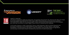 Nvidia The Division Geforce Gtx