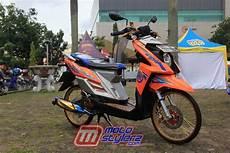 Modifikasi X Ride 2018 by Modifikasi X Ride 2016 Palembang Buat Narsis Tipis