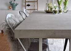 Diy Tischplatte In Betonoptik Diy Tischplatte