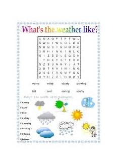 english worksheets what 180 s the weather like