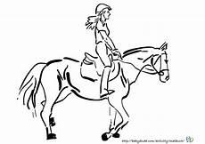 Ausmalbilder Pferde Mit Reiterin Pferdebilder Ausmalen Pferdek 246 Pfe Ausmalbilder