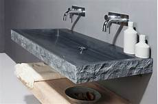 granit waschbecken naturstein waschtisch palermo granit bossiert spa ambiente
