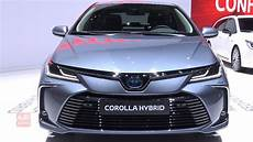 2020 toyota corolla hybrid exterior and interior