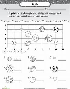subtraction worksheets with grid lines 10162 coordinate grid basic practice with sports worksheets for teaching map skills