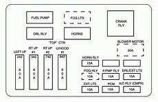01 Chevy Impala Fuse Box Car Wiring Diagram