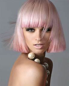 pink blunt bob hairstyle the latest trends in s hairstyles and