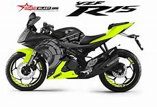 R15 V2 Modif by Modifikasi Striping Yamaha R15 V2 Sunmoon Winter Test