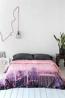 chambre a coucher new york la housse de couette new york un beau style pour la