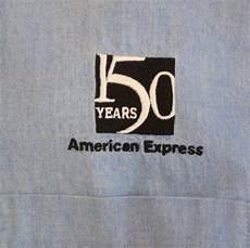 amex advertising mens 4xl button shirt 150 years