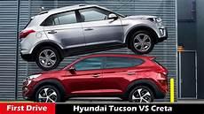 Hyundai Creta Vs Tucson 2016 Compare Review