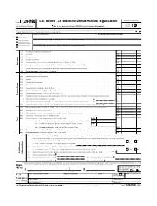 irs form 1120 pol download fillable pdf or fill online u s income tax return for certain