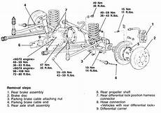 service manual how to remove differential from a 1984 mitsubishi starion honda trx 250 ex