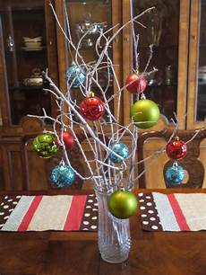 Cheap Decorations by Deck Your Halls Easy Centerpiece Cheap Crafty