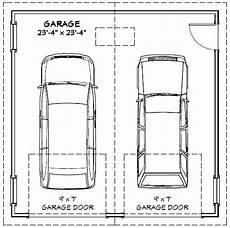 dimension garage 2 places image result for typical garage size 2 car garage