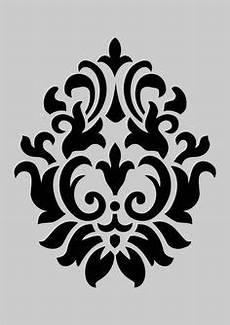 Jugendstil Malvorlagen Xl Shabby Chic Schablone Vintage Ornament F 252 R M 246 Bel K 252 Che