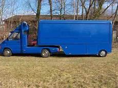 vw lt 35 sattelzug messe auflieger wohnwagen wohnmobile