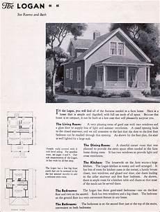 gordon van tine house plans 1935 gordon van tine homes the logan simple but cute