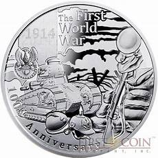 niue 100th anniversary of the outbreak of world war i 1 latent image 2014 proof