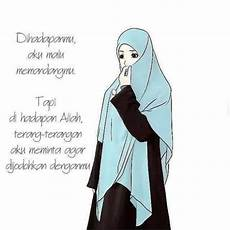 22 Gambar Kartun Wanita Muslimah Anak Cemerlang