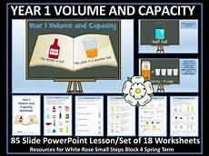 measurement worksheets 1386 volume and capacity year 2 white maths teaching resources