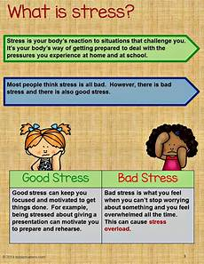 stress management activity bundle teaching kids to manage stress therapy stress management