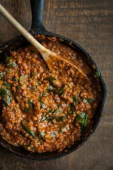 Lentil Masala With Spinach Naturally Ella