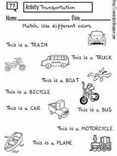 transportation multiple choice b w worksheet transportation theme pinterest multiple