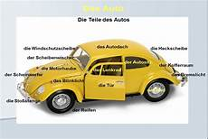 Das Auto Cars Driving German Vocabulary Unit