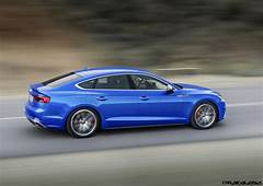 2018 Audi A5 And S5 Sportback  4 Door Coupes Coming To