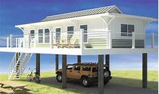 narrow lot beach house plans on pilings narrow lot beach house plans pilings best house plans