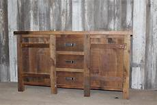 waschtisch holz landhausstil rustic reclaimed vanity made to order from barn wood free