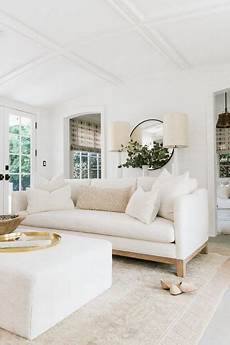 ethereal mid century modern white living room hello lovely