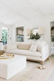 ethereal mid century modern white living room hello lovely