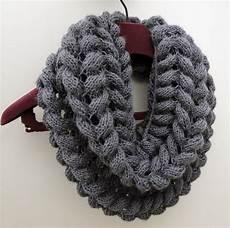 Strickmuster Schal Lochmuster - 3 rabbits patterns scarf cowl knitting pattern