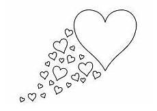 Vorlagen Herzen Malvorlagen Lernen Zwei Herzen Symbole Coloring 3 Herz Malen Fadengrafik