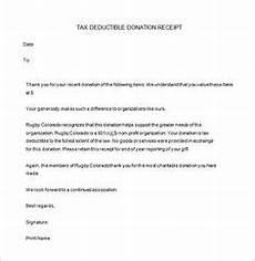 501c3 tax deductible donation letter receipt template business letter sle donation letter