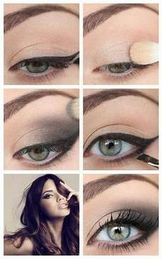 maquillage yeux verts avec lunettes russenko maquillage