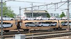 Deutsche Bahn Auto Car Departing Venlo 26 06 15