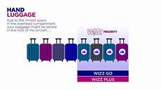 cabin baggage wizzair wizz air baggage policy